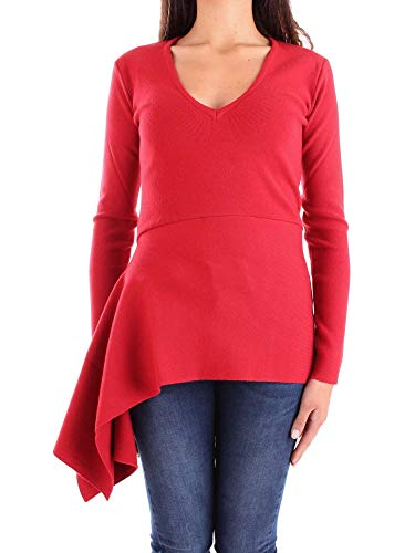 Pullover 7726rosso Femme N Coton Rouge Annarita xTwR7YqXx