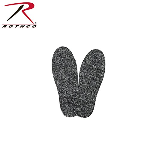 (Rothco Cold Weather Heavyweight Insoles, Grey, 13 (Large))