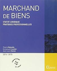 Marchand de biens 2014-1015 : Statut juridique. Pratiques professionnelles