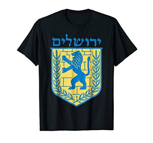 Lion of Judah shirt Jerusalem Israel Jewish Jew Hebrew Tee