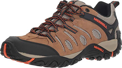 Merrell Crosslander Vent Low Otter/Merrell Orange 10.5