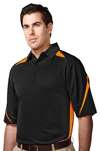 Tri-Mountain Men's Performance Polyester Birdseye Mesh Polo Shirt
