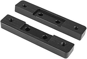 Ludzzi - Juego de 2 placas de aluminio en forma de C para sistemas ...
