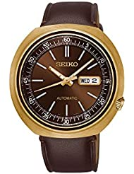 Seiko Recraft Automatic Brown Dial Mens Watch SRPC16