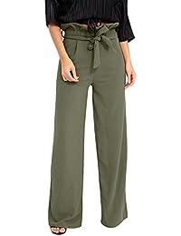 f168a9207bf Clearance Sale! Women Pants,Farjing Summer Women Pants High Waist Speaker  Wide Leg Straps