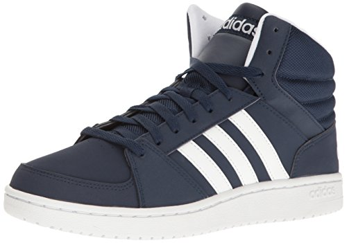 adidas NEO Men's Shoes | VS Hoops Mid Basketball, Collegiate Navy/White/White NEO Child code (Shoes)