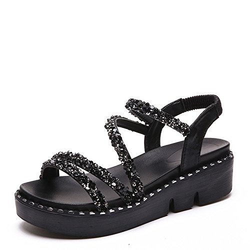 Noir Muffin Water Drill Chaussures Solid 8BYqABZx
