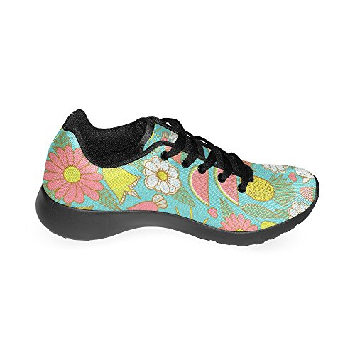 Tropic Watermelon Running Sports InterestPrint Road Pineapple Shoes Athletic Womens Jogging Lightweight Fruits Walking Summer Sneakers pEqEv