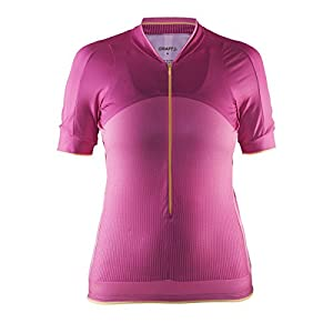 Craft Women's Belle Bike Jersey Shirt, Medium, Smoothie