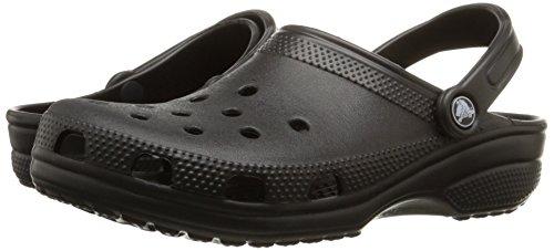 Crocs Unisex Classic Clog, Black, 13 US Men/15 US Women
