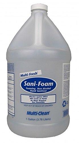 Multi-Clean Sani Foam Hand Sanitizer (Non-Alcohol) Gallon, ()