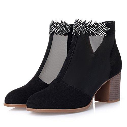 KPHY Tennis-Stiefel Kurze Stiefeln Dicken Pumps High Heels 6 Cm Cm Cm Einzelne Schuhe Ausgehöhlt Damenschuhe. ce6d94