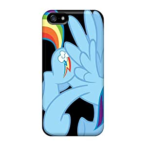 FKc5659cNAg Snap On Case Cover Skin For Iphone 5/5s(rainbow Dash Cartoons)