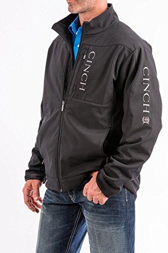 Cinch Men's Concealed Carry Bonded Jacket Black X-Large (Mens Cinch)