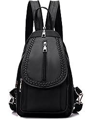 NOVOSACO Girls Convertible Nylon Mini Backpack Purse Cross Body Sling Shoulder Bag