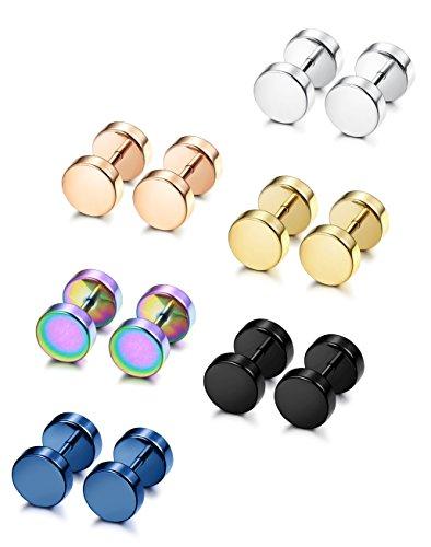 FIBO STEEL Stainless Earring Piercing