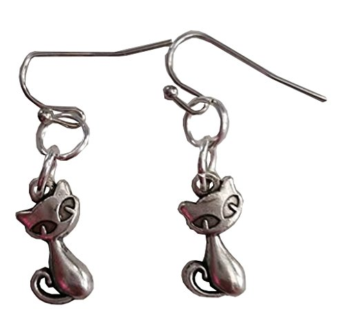 Childs Homemade Costumes Cat (Siamese Cats Dangle Earrings)