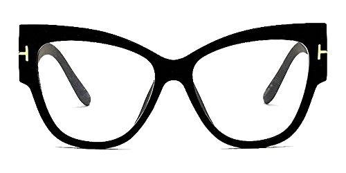 Women's Personality Cat's Eye Sunglasses,Big Frame Street Tide - Eye Big Glasses Cat