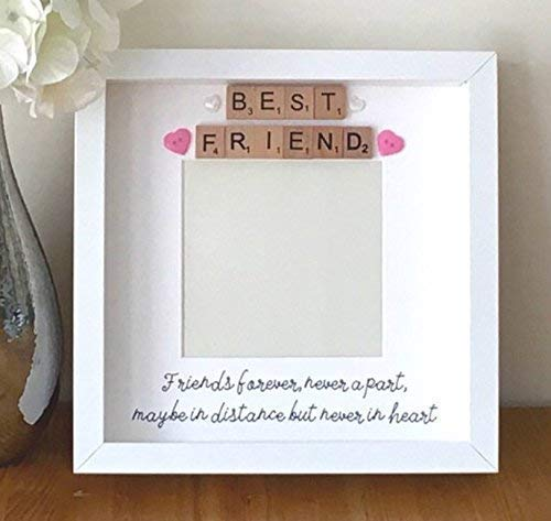 Best Friend Photo Frame Friends Forever Never Apart Distant Friends
