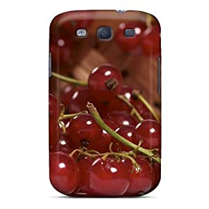 S3 Scratch-proof Protection Case Cover For Galaxy/ Hot Food Fruits And Berryes Redcurrant Phone Case