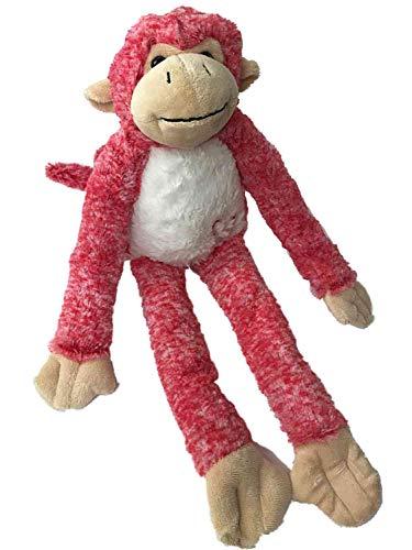 Dan Dee Long Armed Pink Love Monkey Plush 18