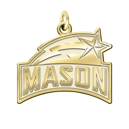 George Mason Patriots Solid 14K Yellow G - 14k Solid Gold Sport Charm Shopping Results