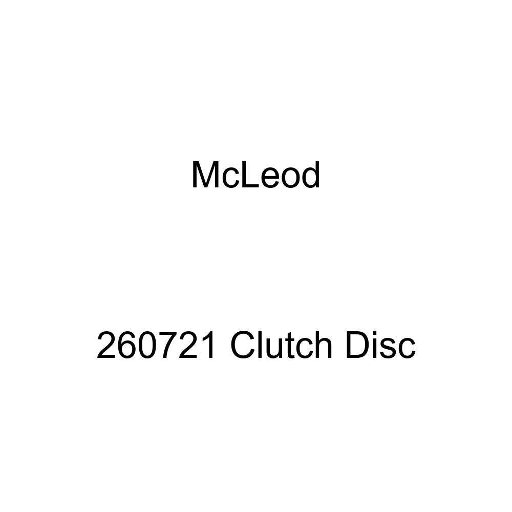 McLeod Racing 260721 Disc Racing Only Solid Hub Flat 11in X 1 X 23 Spline