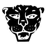 Elma332Tuttle Jaguar Panther Head DieCut Decal Car Window Wall Bumper Phone Laptop