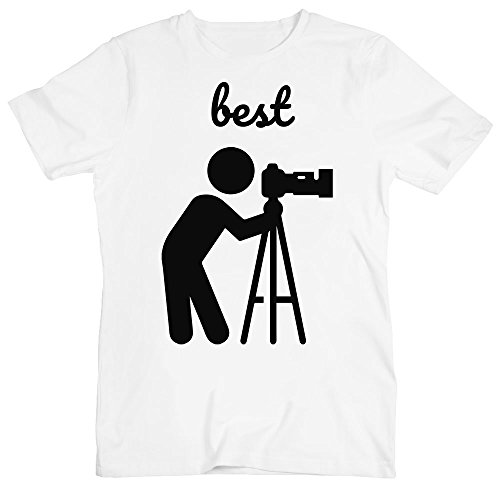 Best Cameraman Ever, Camera On Tripod Men's T-Shirt