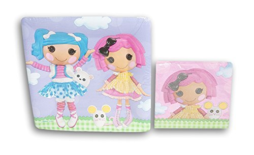 Lalaloopsy Birthday Party Set - Plates and Napkins]()