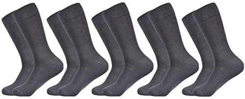 TXGLGWA Calcetines para Hombres sólido Algodón Peinado Calcetines Negros Elección de Moda Colorida Ropa a Juego Calcetines clásicos Hombres US 7.5-12 EU 40-46 5 Pares de Calcetines-A5: Amazon.es: Deportes y aire libre