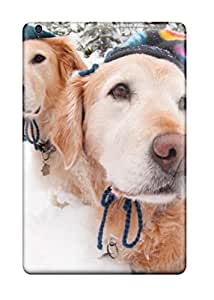 6401768I24999586 Hot Snap On Dogs With Hats Hard Cover Case Protective Case For Ipad Mini