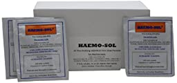 Haemo-Sol 025-051 PK Non-Sudsing Detergent for Mechanized Cleaning 24  Single Use Packets