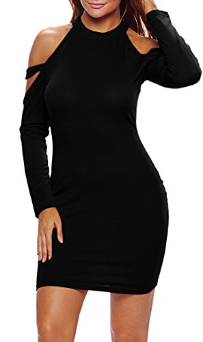 Carprinass Shoulder Bodycon Bandage Dresses product image