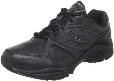 Saucony Women's ProGrid Integrity ST2 Walking Shoe,Black/Grey,5 2A US