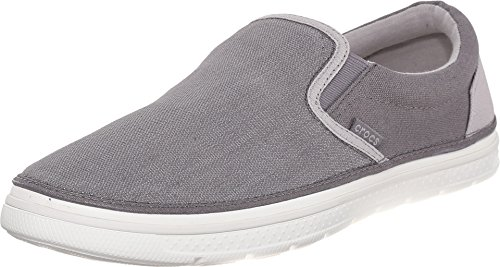 Pictures of Crocs Men's Norlin Canvas Slip-on 202772 Khaki/White 1
