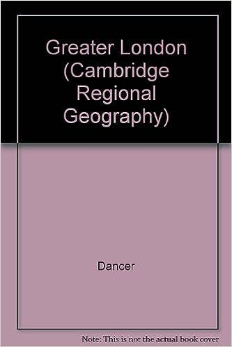 Greater London (Cambridge Regional Geography)