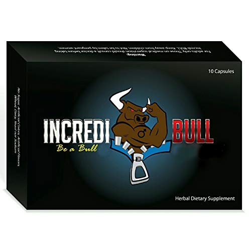 INCREDIBULL ~ Male Performance Amplifier that Removes Performance - Viagra Pfizer