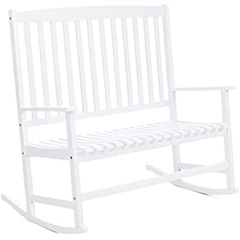 Amazon Com Mainstays Outdoor Double Rocking Chair