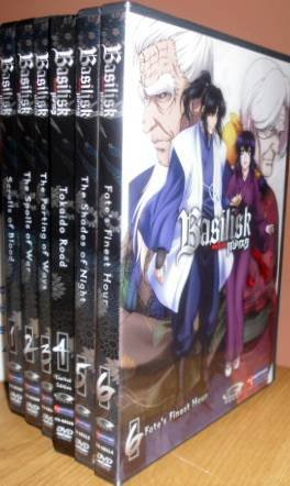 Basilisk #1 - 6: The Complete Series