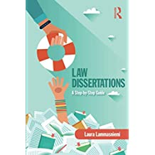 Law Dissertations: A Step-by-Step Guide