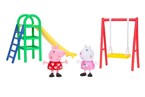 (Peppa Pig Playground Fun Playtime Set)