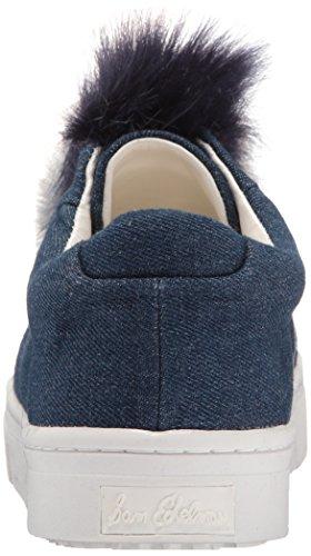 Women's Fashion Sam Blue Edelman Sneaker Leya Dark Denim 5wxRx6q