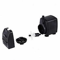 Songlong SL-401 Eco-friendly Submersible Fountain Water Pump For Carving Machine AC 120V 800L/H