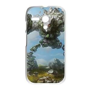 Motorola G phone case White League of Legends Malphite ZLS2911144