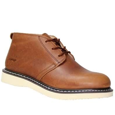 Golden Fox Chukka Boot Plain Toe Mens (13 M US, Brun)