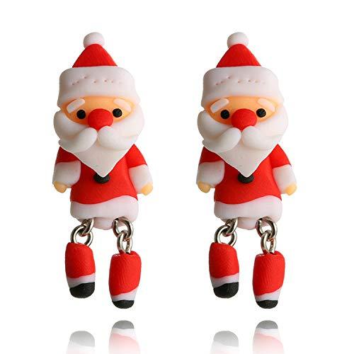 Buy new santa claus charm dangle in gold