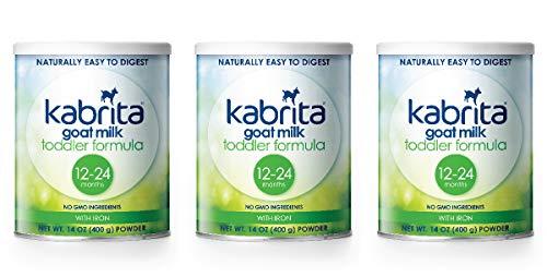 Kabrita Goat Milk Toddler Formula, 14 oz, 3Count (Best Formula Milk For Babies With Eczema)