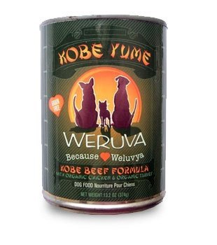 "WERUVA INTERNATIONAL, INC. - DOG KOBE YUME 12/13.2OZ ""OTHER PET FOODS - WERUVA DOG CAN"""
