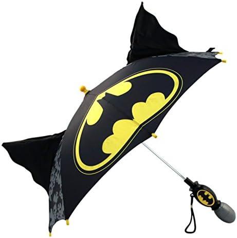 DC Comics Batman Character Rainwear Umbrella Age 3-7 Little Boys